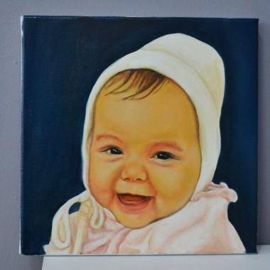 Portrete pictate: Bebelus