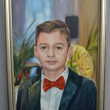 Portrete pictate: Baiatul tatei
