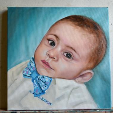 Portrete pictate: Baiat