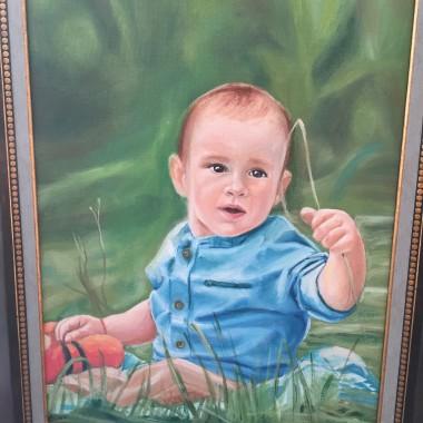 Portrete pictate baiat
