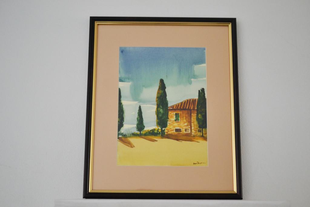 Tablou Toscana 29x35 cm 100 RON