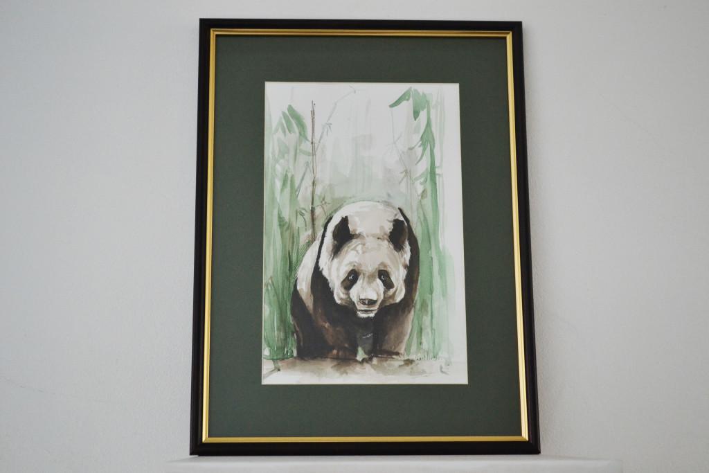 Tablou Urs Panda 30x40 cm 100 RON